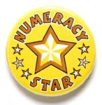 Numeracy Star School Badge
